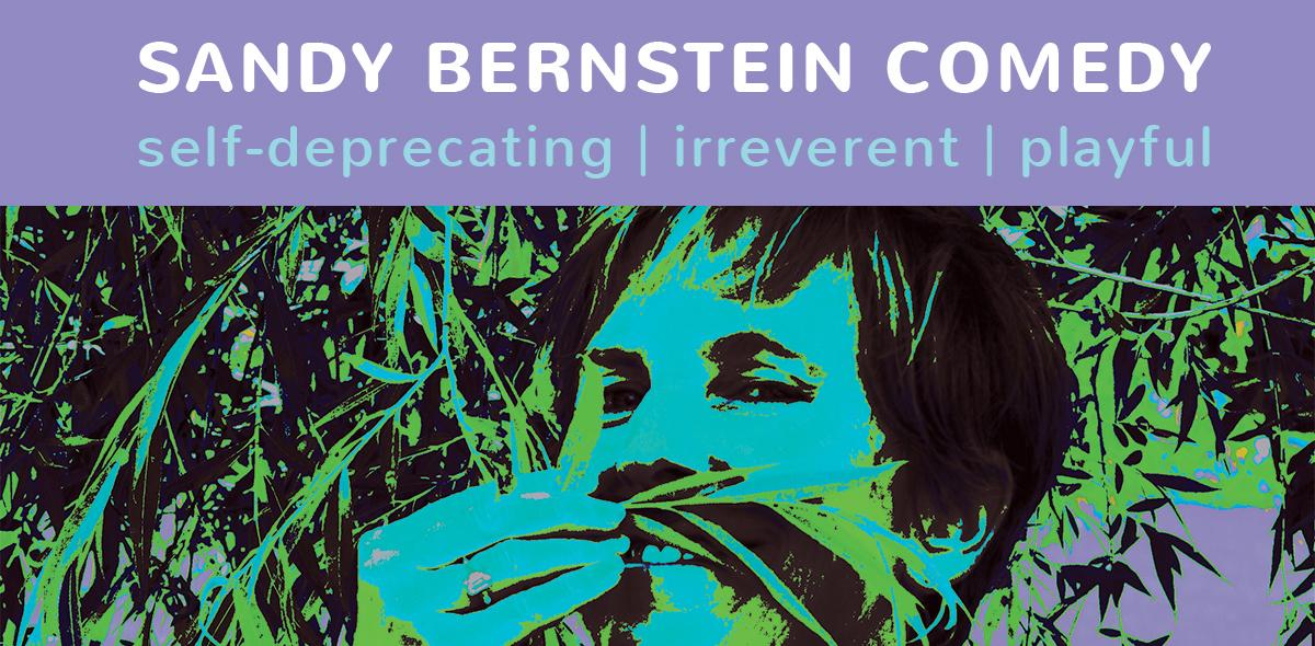 Sandy Bernstein Comedy Logo
